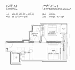 LLoyd-65-singapore-1-bedroom-floor-plan
