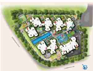 Provence-Residence-EC-site-plan